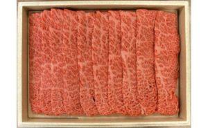 岐阜県飛騨市 飛騨牛肩ロースうす切り(すき焼き用800g)